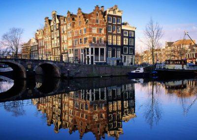 Amsterdam, poésie des canaux