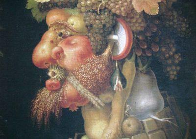 Arcimboldo, homme fruit, homme fleur
