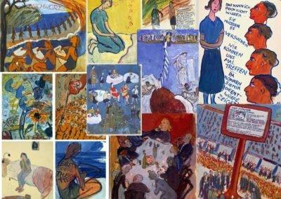 Art en guerre, 1938-1947