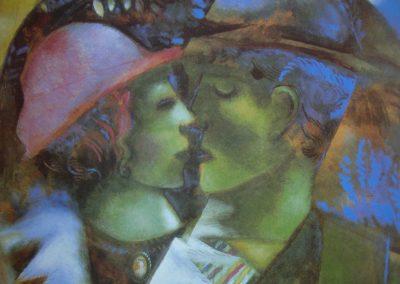 Chagall, ivre de couleurs et de poésie