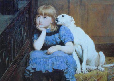 Chiens et chats dans la peinture