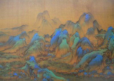 Chine, peinture