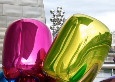 Jeff Koons, trublion