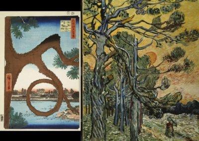 Van Gogh / Hiroshige