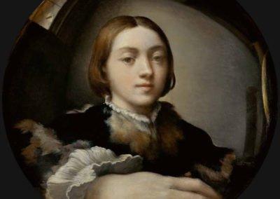 Autoportrait.
