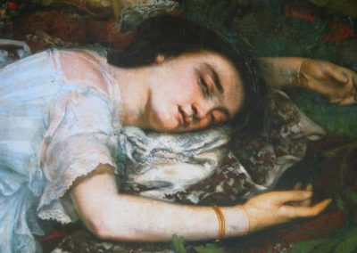 Et Courbet inventa la femme…