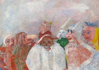 Ensor et en os; Ostende, les masques, la mer et la mort