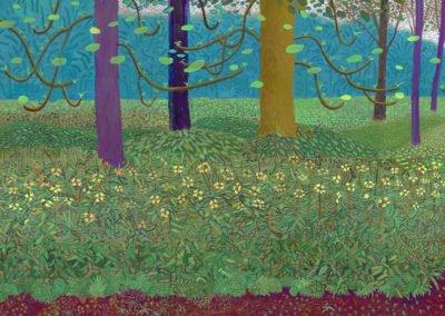 Hockney, le peintre, l'IPad et l'aubépine