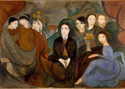 Marie Laurencin, le feu sous l'aquarelle